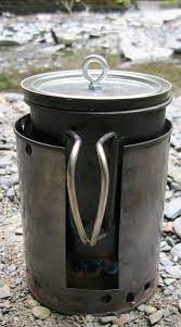 fancy feast stove twig stove hybrid