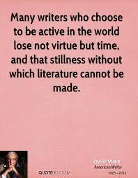 Gore Vidal Quotes QuoteHD Enchanting Stillness Quotes