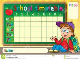 Timetable Chart Ideas Class Time Table Chart Decoration Ideas Bedowntowndaytona Com