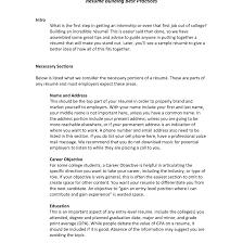 Excellent Food Handler Resume Images Entry Level Resume