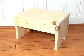 wooden step stools kitchen stool unfinished for the c wooden step stools