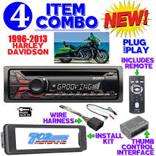 harley davidson plug and play plug n play radio stereo systems harley davidson boom audio installation instructions at Harley Davidson Radio Wiring Harness