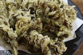 舞 茸 の 天ぷら