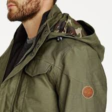 military olive timberland ragged mountain 3 in 1 waterproof field jacket high quality for