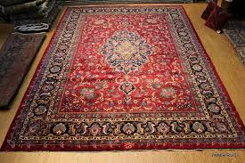 details about antique persian rug circa 1920 s authentic one of a kind signed 10 x 14 rug