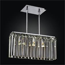 linear glass chandelier wind 620dm3lsp