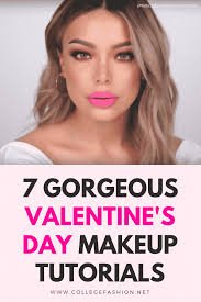 valentine s day makeup tutorials best tutorials to try for v day