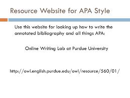Annotated Bibliography Website Example Apa Blackbackpub Com