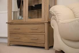 oak hidden home office. eton solid oak living room furniture glazed display cabinet cupboard hidden home office