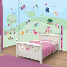 Pony Bedroom Accessories Walltastic My Little Pony Room Decor Kit Toys R Us