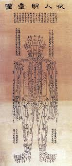 Acupuncture Chart Poster Chinese Acupuncture Chart 1906 1 Poster