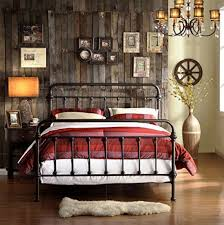 40 Inexpensive Farmhouse Style Wrought Iron Beds | Bedroom | Bedroom ...