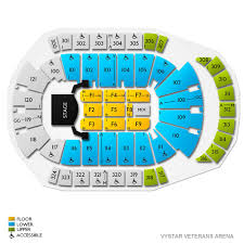 Jacksonville Veterans Memorial Arena Club Level Seating Chart Celine Dion Jacksonville Tickets 1 8 2020 L Vivid Seats