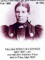 "Pauline Dorothea ""Ann"" Bryner Pace (1857-1921) - Find A Grave Memorial"