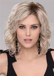 Fashion Medium Length Big Curly Layered Synthetic Hair Capless Wig