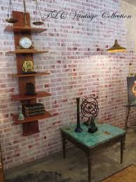 Small Picture Vintage Faux Brick Painted Wall Decor Hometalk