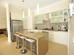 Image Of: Classic Galley Kitchen Design Using Frosted Glass