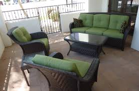 Yellow Replacement 6 Piece Seat Cushions Set For Keter Allibert California Outdoor Furniture