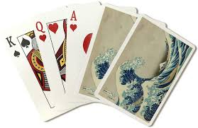 The uhfcu visa cash wave credit card offers an easy way to get unlimited 1.75% cash back on all your purchases. Amazon Com The Great Wave Off Kanagawa Masterpiece Classic Artist Katsushika Hokusai C 1826 Playing Card Deck 52 Card Poker Size With Jokers Everything Else