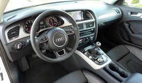 audi a4 2014 interior. Wonderful Audi The Interior Of The 2014 Audi A4 20T Quattro Manual And Interior A
