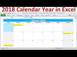 windows printable calendar 2018 2018 calendar year in excel 2018 monthly calendars year 2018