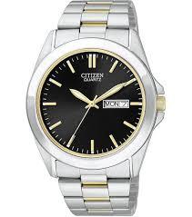 citizen mens silver bf0584 56e watch watchco com citizen quartz bf0584 56e silver mens