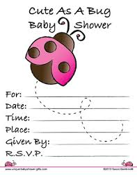 Baby Shower DIY  Page 296 Of 376  Baby Shower Decor Baby Shower Free Printable Ladybug Baby Shower Invitations