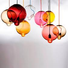 art glass lighting fixtures. modern pendant light creative art glass hanging lamp by marsden design dining room lighting fixture luminarias fixtures