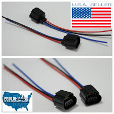 h13 9008 wiring harness female plug headlight pigtails socket Ford Wiring Harness Connectors h13 9008 wiring harness female plug headlight pigtails socket connector 55w ford ford wiring harness connector parts