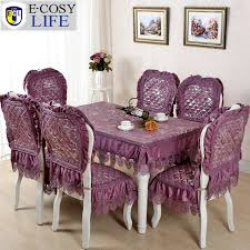 kitchen tablecloth picture more detailed picture about blue great dining table chair cover