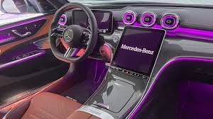 There are plenty of standard and available features as well. All New 2022 Mercedes Benz C Class Interior First Full Interior View W206 C Class Youtube