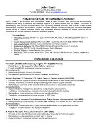 Network Technician Resume Samples Amazing Network Engineer Resume Example Colbroco
