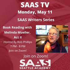 Seattle Academy - SAAS TV Writers Series - catch the second installment of  Seattle Academy founding faculty member, Melinda Mueller's discussion about  her award-winning epic poem, What the Ice Gets, which chronicles