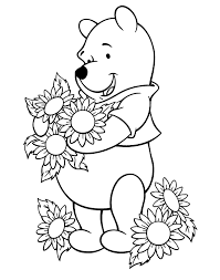 Small Picture Sunflower Coloring Pages In Coloring Pages glumme