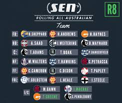 Maybe you would like to learn more about one of these? Sen S Rolling All Australian Team Round 8 Edition