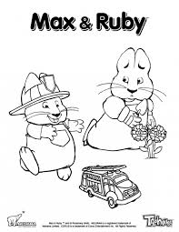 Small Picture Ruby Watching Over Max Playing In Max And Ruby Printable Coloring