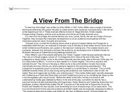 a view from the bridge gcse english marked by teachers com document image preview