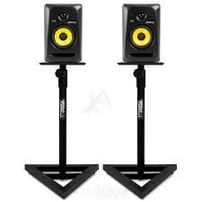 studio monitor stands gorilla gsm 100 adjule hi fi studio speaker stands