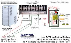 wiring diagrams for hardwire ups battery backup power, inc 3 phase ups working principle at Ups Wiring Diagram