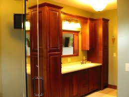 bathroom vanity and linen cabinet. Bathroom Vanities With Linen Cabinet Cherry Built Master Vanity Cabinets Mirror And Closet