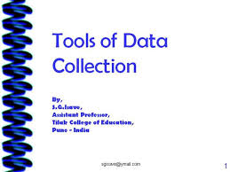 Tools Of Data Collection Authorstream