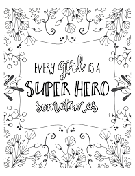 Free Super Hero Coloring Pages Del