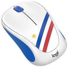 <b>Мышь Logitech M238 Fan</b> Collection Wireless Mice France White ...