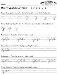 Cursive Writing