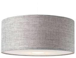 linen drum shade chandelier modern grey textured large drum ceiling light shade pendant new white linen