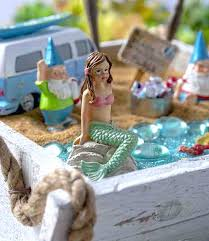 mermaid fairy garden create your own beach fairy garden and bring a sense of seaside enchantment mermaid fairy garden