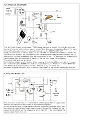 1 100 transistorcircuits 38 12v trickle chargerthe 12v trickle charger circuit