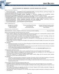director of marketing resume