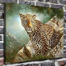 leopard wild cats canvas prints fine