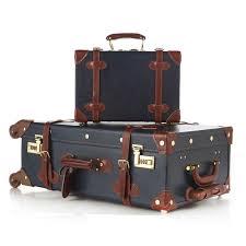 vintage luggage. aliexpress.com : buy fashion women travel suitcase pu leather vintage luggage set universal wheels trolley bag 24\ 1